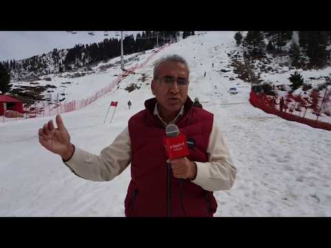 Malam Jabba Skiing competition 2018
