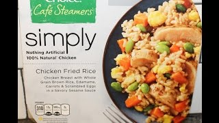 Healthy Choice Café Steamers Simply Chicken Fried Rice Review