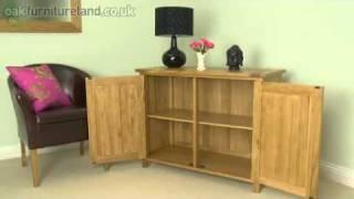Newark Solid Oak Small Sideboard From Oak Furniture Land