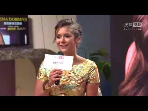 Sohu Media interview with Nina Dobrev