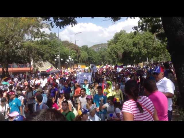 Marcha pacifica #12F VALENCIA Redoma de Guaparo #LaSalida depende de ti Videos De Viajes