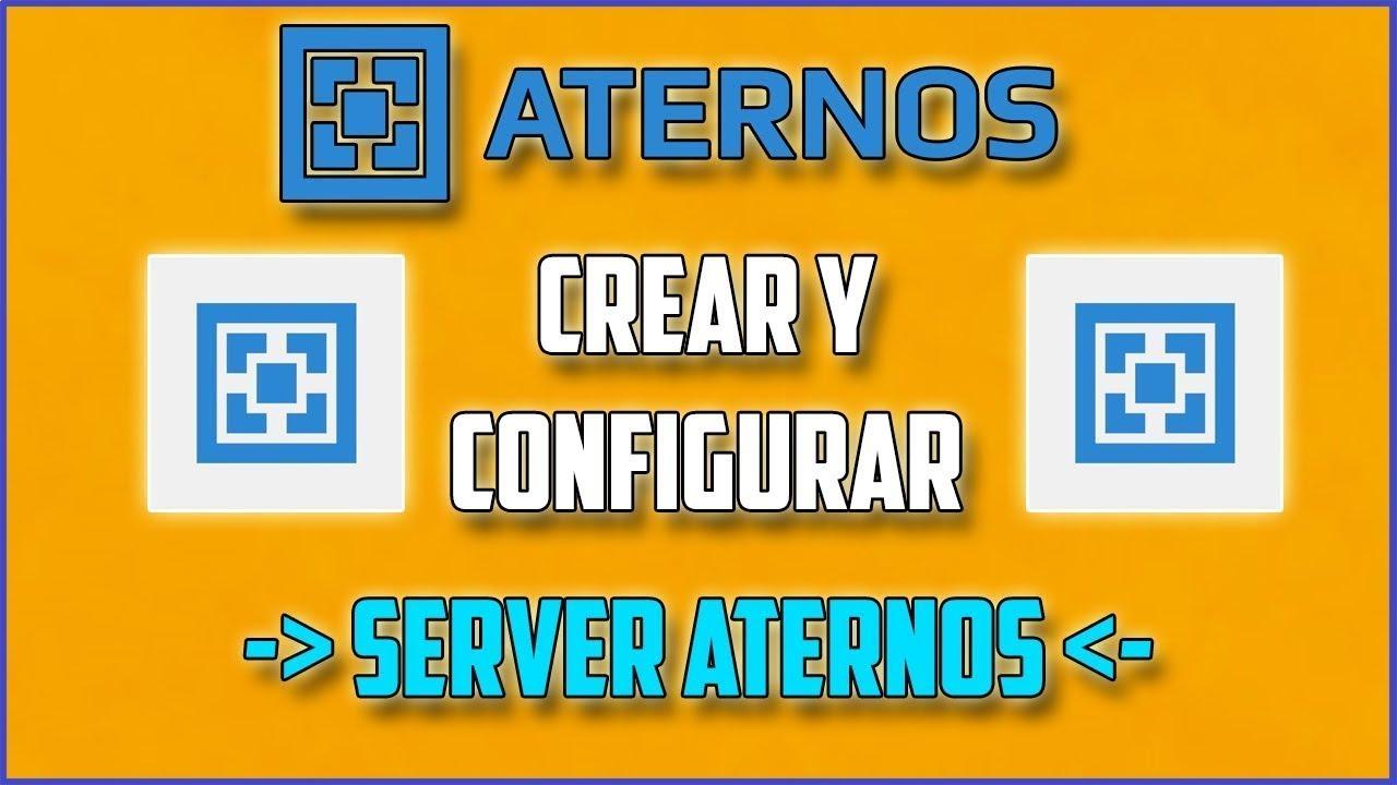 ¡Como crear un server de minecraft con Aternos¡ - YouTube