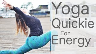 10 Minute Yoga Quickie for Energy 2 With Fightmaster Yoga