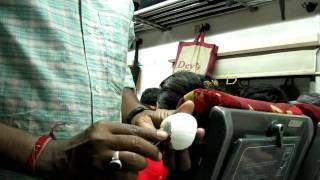 Peeling Hard Boiled Egg