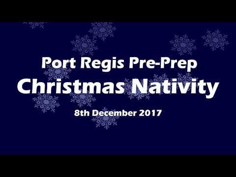 Port Regis Pre-Prep Nativity 2107