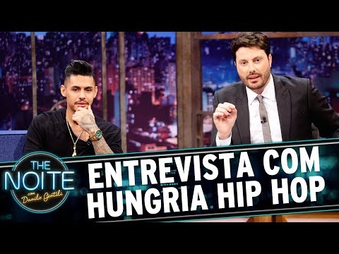 Entrevista com Hungria Hip Hop  The Noite 090617