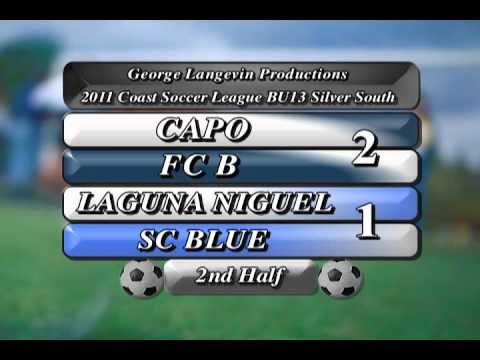 2011 Coast Soccer League: Capo FC B vs. Laguna Niguel SC Blue: Highlights