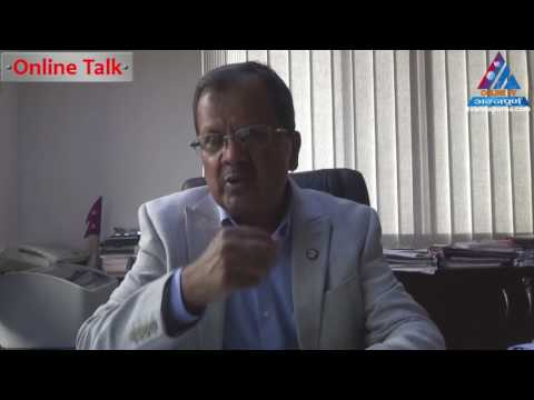 Online talk with President of Cement Manufacturers Association Dhurba Thapa