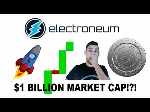 ELECTRONEUM HITS 1 BILLION MARKET CAP! - WHATS NEXT?