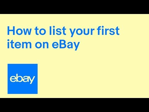 eBay for Business | How to list your first item on eBay UK - a guide for businesses 2018