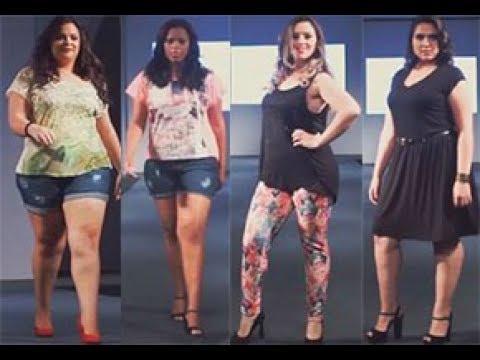 Fashion Big Size Dress Show