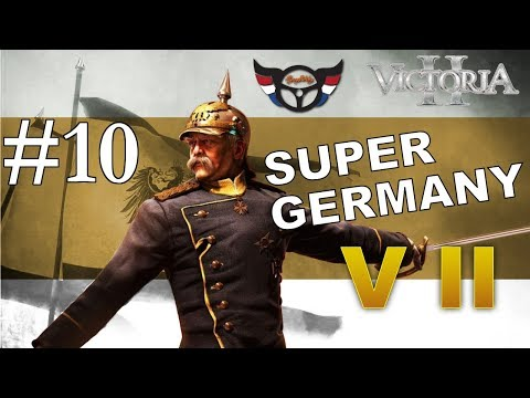 Victoria 2 - Prussia into Super Germany - ep10