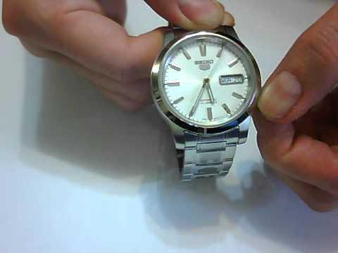 a3c036ac0 Seiko 5 (Seiko Five) Men' s Automatic Watch # SNK789K1 - YouTube