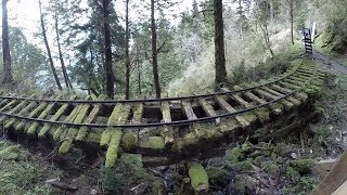 Abandoned forest railway, Taipingshan, Yilan county 太平山森林鐵路,宜蘭縣