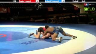 Cadet 120 - Taylor Lamont (Utah) vs. Gabriel Townsell (Illinois)