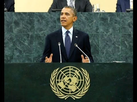 "The Empire President: Jeremy Scahill on Obama's ""Neo-Con"" Doctrine of Military Force in U.N. Speech"