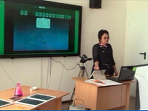 Мастер-класс «Использование ИКТ в демонстрационном химическом эксперименте»