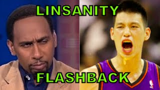 LINSANITY Flashback- Stephen A Smith rips Jeremy Lin then begs him back!  林書豪  籃球批評