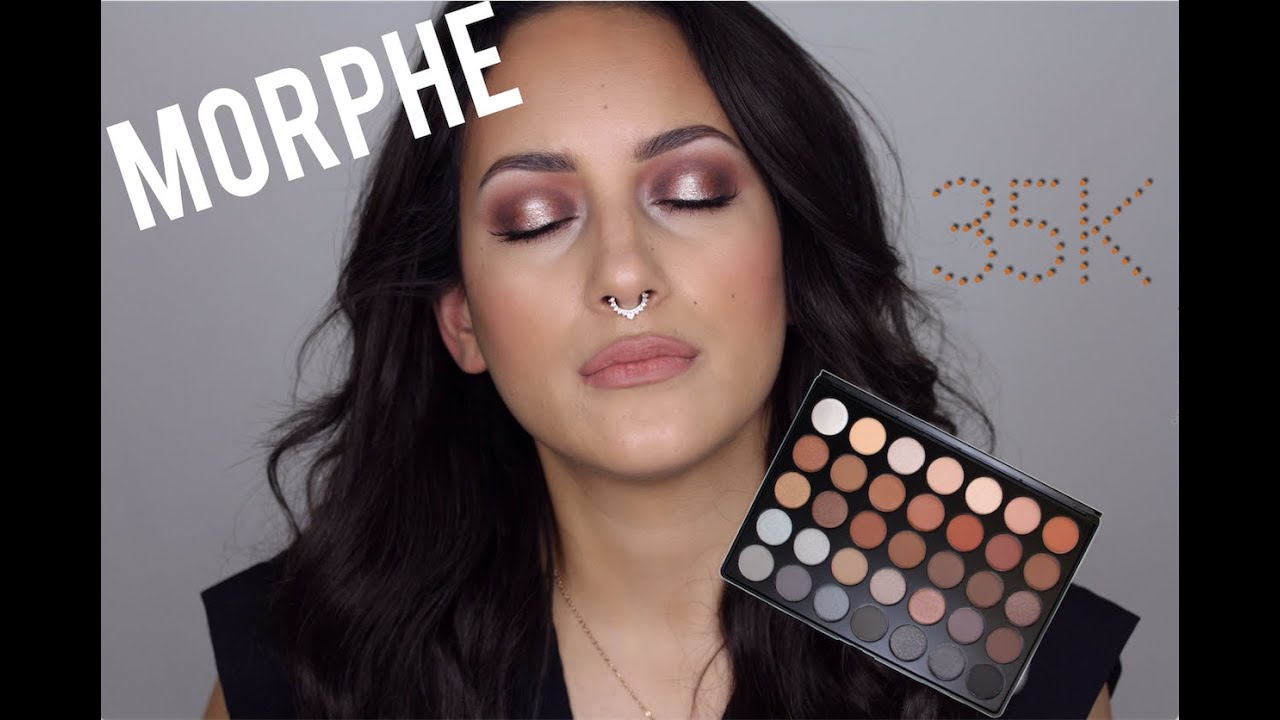 Morphe Brushes 35k Warm Halo Smokey Eye Youtube