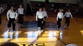 Osage Indians dance squad