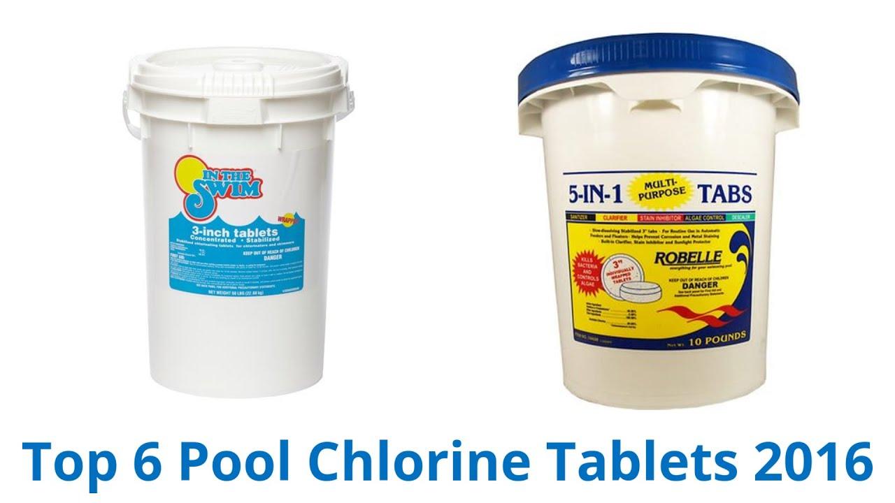 6 Best Pool Chlorine Tablets 2016 Youtube