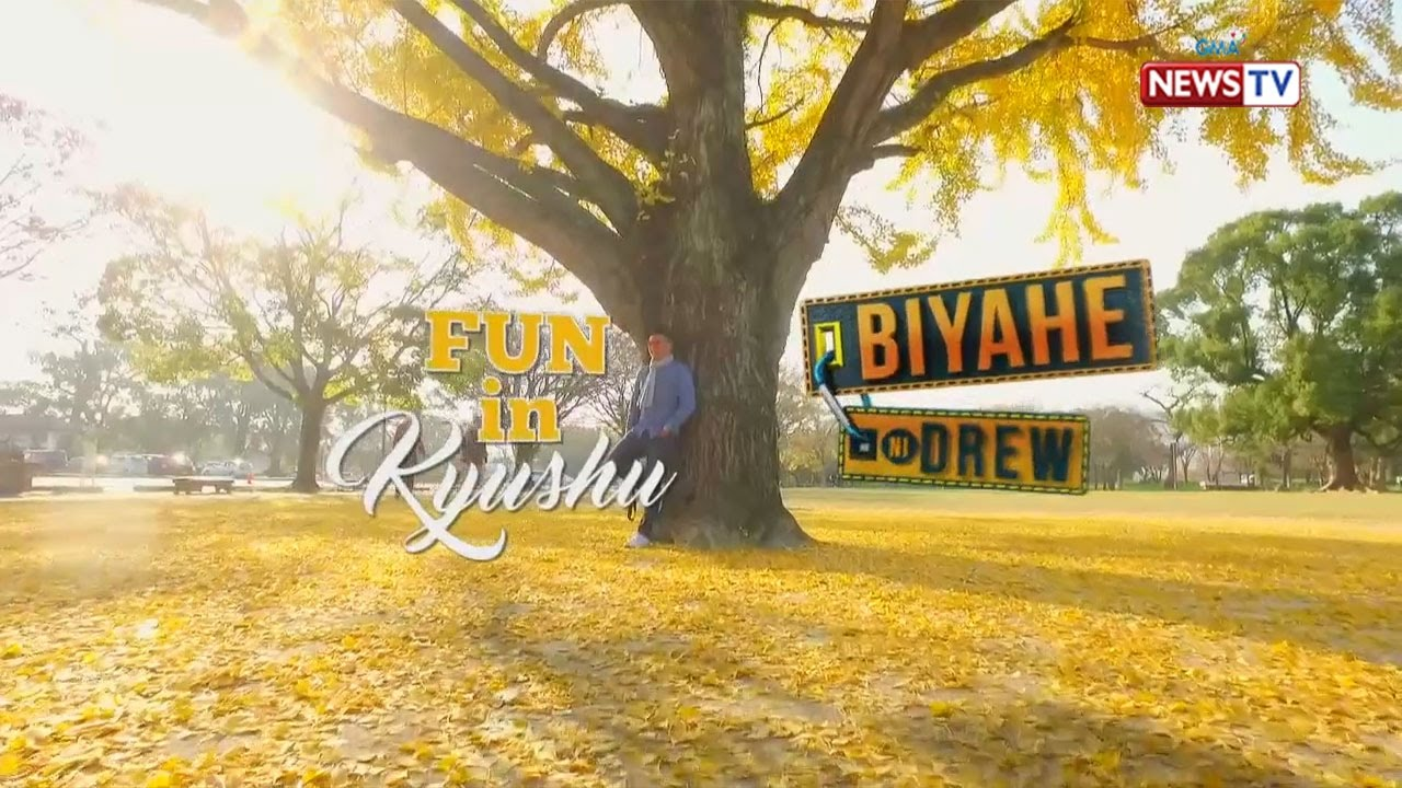 Biyahe ni Drew: Fun adventure in Kyushu, Japan (Full episode) #1