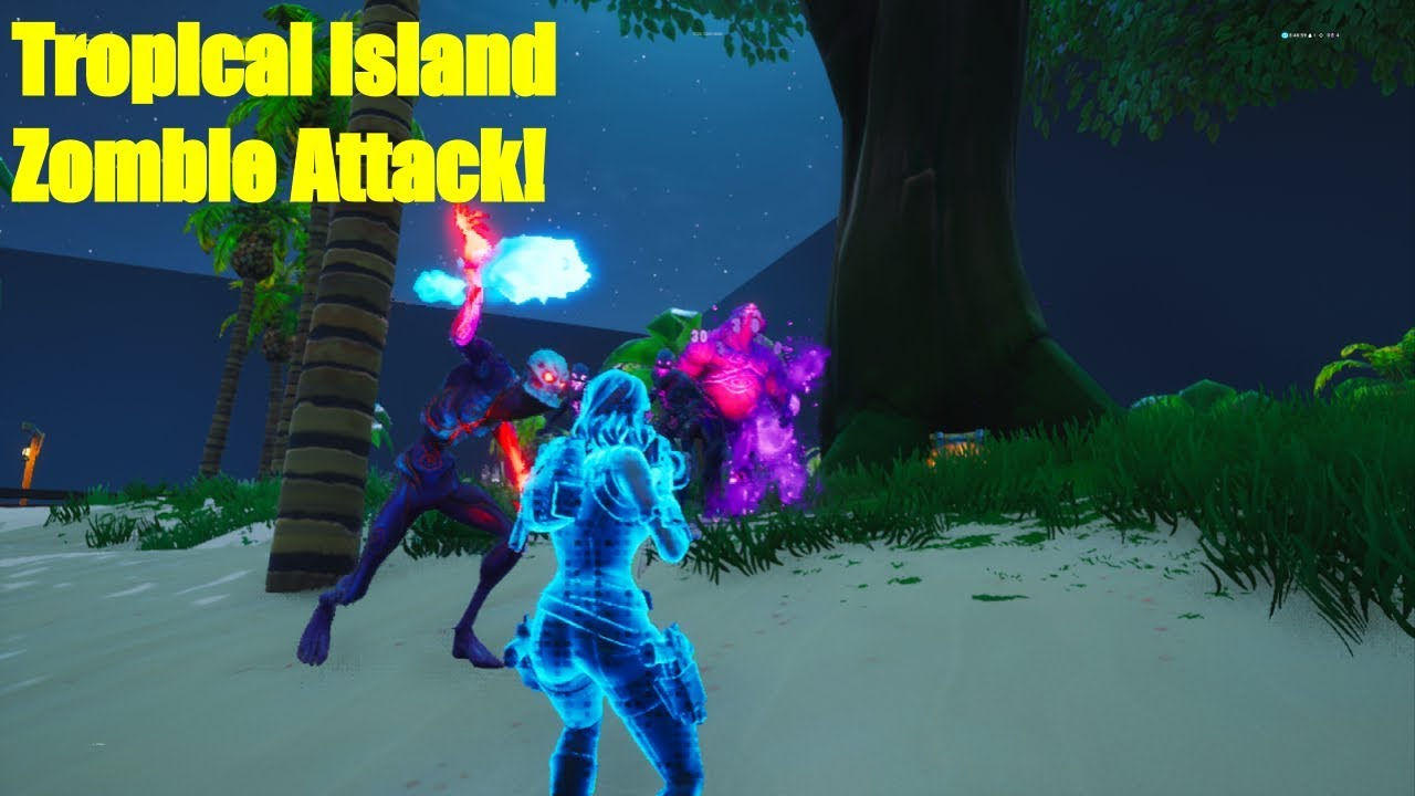 Tropical Island Zombie Attack Map Code 3726 7269 4600 Creative Maps
