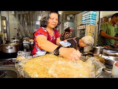 Taiwanese Street Food - KAOHSIUNG HAKKA NOODLE HEAVEN in Qishan + RURAL Street Food in Taiwan!!!