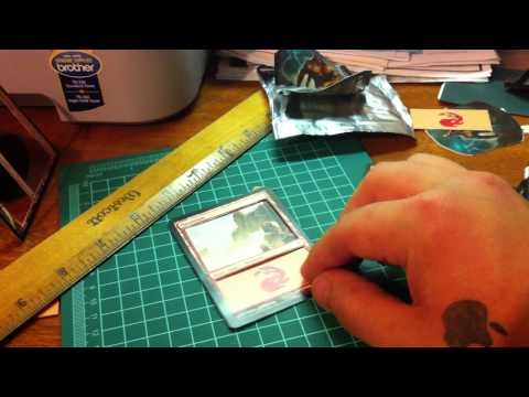 How to make 3D mtg cards