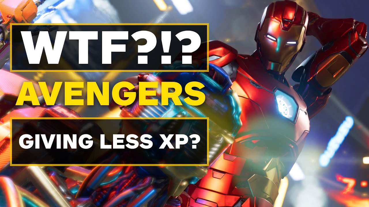 Why is Marvel's Avengers About to Nerf XP Gains?