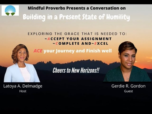 Conversation w/ Gerdie Rene Gordon on Building in a Present State of Humility