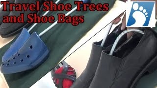 Travel Shoe Trees and Shoe Bags