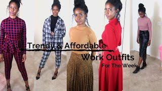 Work Outfit Ideas For One Week - Lookbook - SHEIN