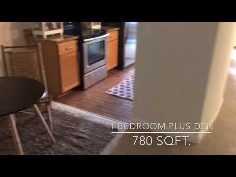 1 Bedroom Plus Den, 780 SQFT