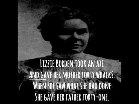 Lizzy Borden Rhyme