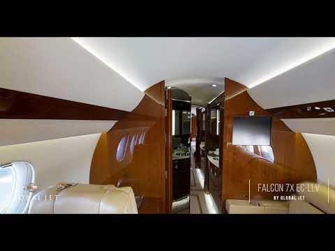 Falcon 7X EC-LLV by Global Jet