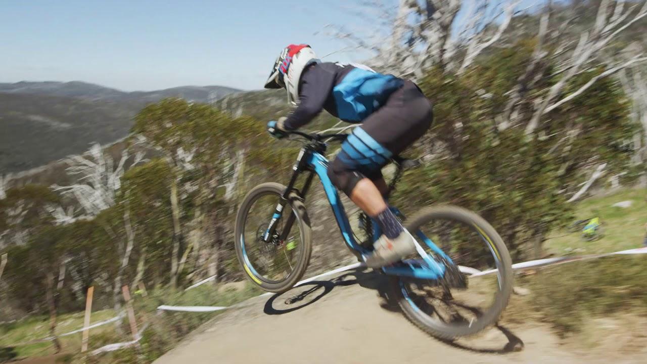 Thredbo Mountain Bike Park: Cannonball Downhill Trail