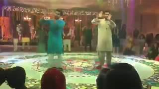 RAZA SAMO Dancing at Mehndi |Awesamo Speaks
