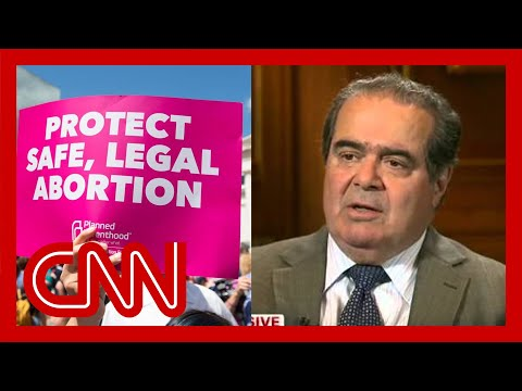 Justice Antonin Scalia talks about Roe v. Wade.