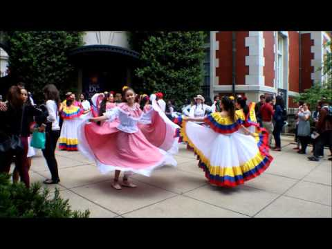 Dancing at the Embassy of Columbia