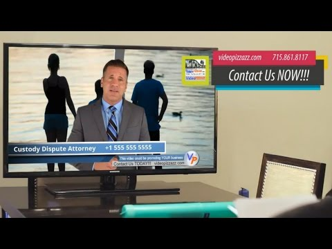 Thumbnail: Custody Attorney - Compelling VidInVid Commercial - Custody Lawyer Male Spokesperson