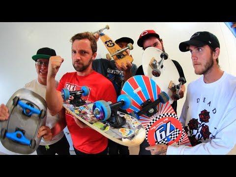 5 CRAZY BOARDS GAME OF SKATE!