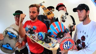 5 CRAZY BOARDS GAME OF SKATE!