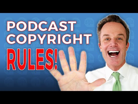 Podcast Copyright Rules - Be a Pro in 5 Minutes!!!