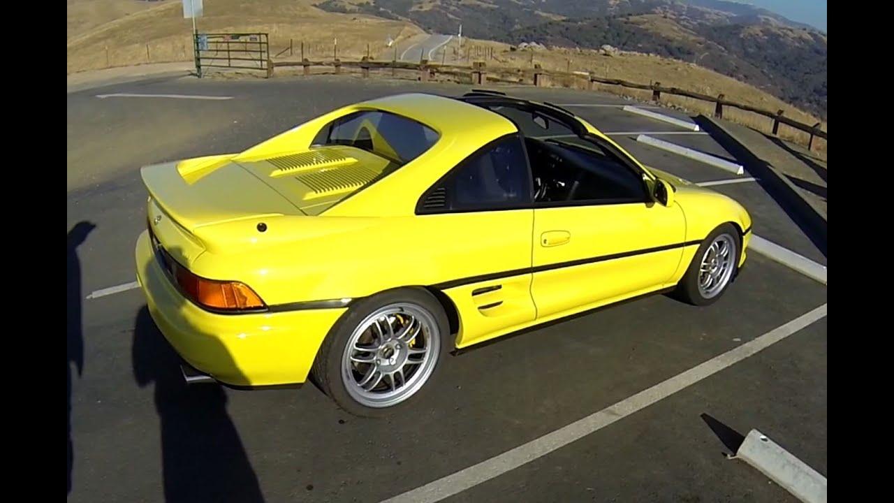 1991 Toyota MR2 Turbo SW20  POV test drive  YouTube