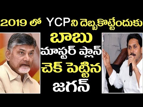 Chandrababu Naidu  Super Plan to 2019 elections ll YS Jagan in 2019 ll 2day 2morrow