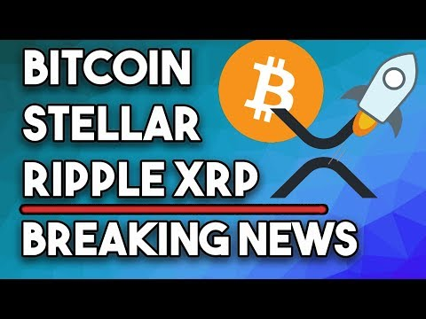 This Will Be HUGE For Ripple XRP! Bitcoin Triangle Breakout, Stellar INSANE Airdrop!