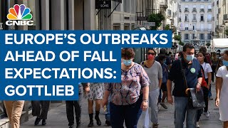 Covid-19 outbreaks in Europe is ahead of fall expectations: Former FDA chief