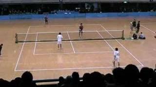 第46回東京インドア 全日本ソフトテニス大会 男子Bブロック1 佐々木洋介 検索動画 26