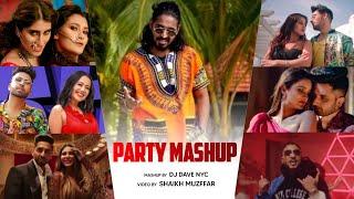 The Party Mashup 2020 | DJ Dave NYC | Punjabi Mashup | Shaikh Muzffar |